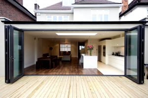 cost your aluminium bifolding doors with NOW aluminium