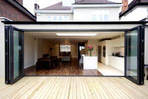 cost your aluminium bifolding doors with NOW aluminium