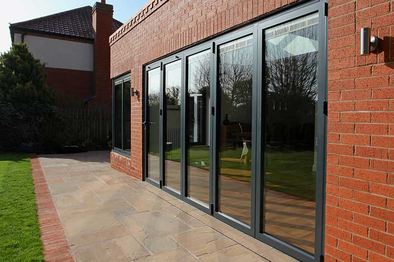 NOW aluminium doors free delivery