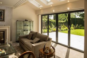aluminium bifolding doors for homeowner