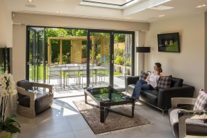 aluminium bifolding doors for self builder