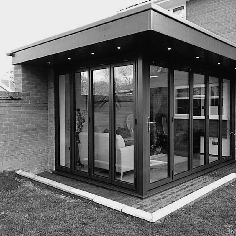 aluminium bifolding door project