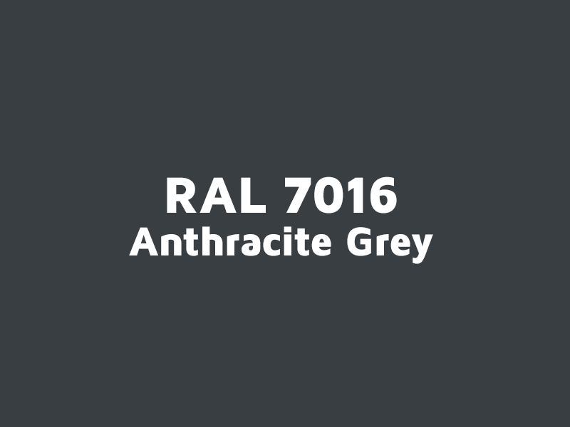 RAL 7016, anthracite grey