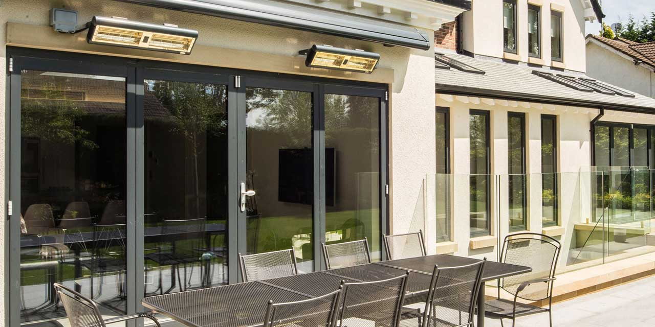 the perfect colour bifold doors